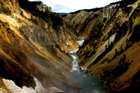 Yellowstone River Grand Canyon 8x12-3